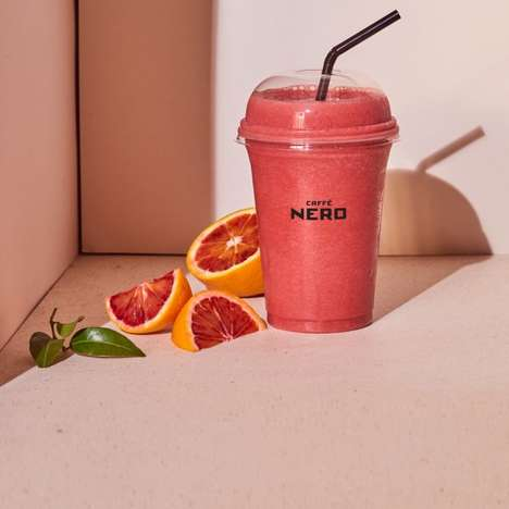 Tart Fruit Smoothies - Caffè Nero's New Fruit Boosters are Made with Exotic Fruits