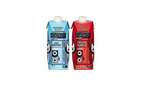 Ready-to-Drink Alcoholic Juiceboxes