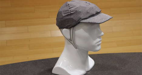 Baseball Cap Helmets - Park and Diamond's Collapsible Helmet Disguises Itself as a Baseball Cap