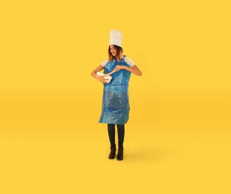 Multipurpose Carryall Campaigns - This Campaign Suggests Alternate Uses for the IKEA Frakta Bag