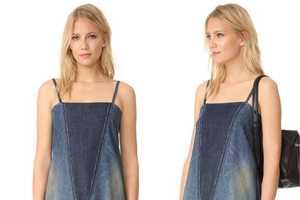 Re-Purposed Jean Dresses