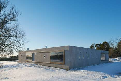 Barren Winter Holiday Homes