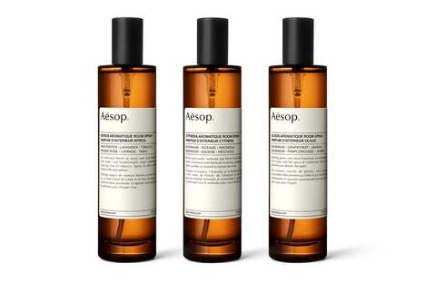 Sense-Invigorating Room Sprays - Aēsop's New Aromatic Sprays Comes in Three Different Variations