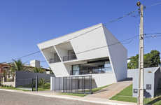 Inverted Wedge Houses