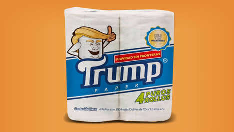Charitable Political Toilet Papers - Some of the Proceeds from Trump Paper Will Go To a Good Cause