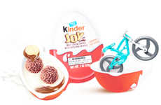 Egg-Shaped Snack Sets - 'Kinder Joy' Introduces a Reformatted Version of the Kinder Surprise
