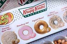 Donut-Flavored Jelly Beans - Jelly Belly is Introducing a Set of Krispy Kreme Jelly Bean Flavors