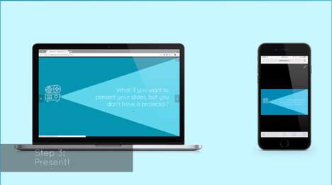 Slide-Broadcasting Startups - Slidecast Makes it Easy to Share a Slide Presentation on Many Devices