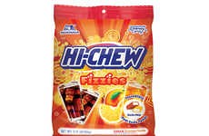 Soda-Flavored Candy Chews - Hi-Chew's 'Fizzies' Boast Real Cola Flavors and an Effervescent Texture