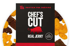 Cheesy Jerky Snacks - These Protein Packs from Chef's Cut Pair Jerky and Cheese