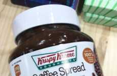 Caffeinated Hazelnut Spreads - Krispy Kreme's Caramel Macchiato Coffee Spread Includes Real Coffee