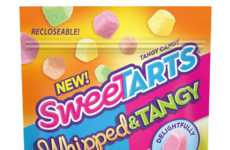 Airy Tart Candies - SweetTARTS' Candy Can Now Be Enjoyed in a Chewy 'Whipped & Tangy' Format