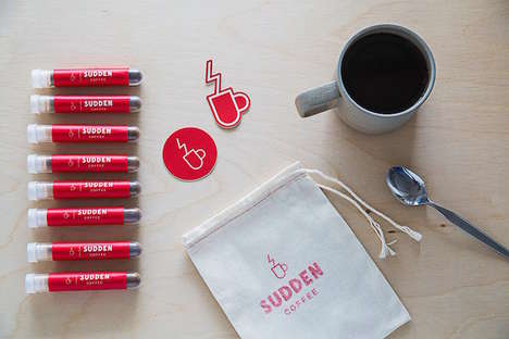 Typeface-Themed Coffees - Sudden Coffee Club Offers a Helvetica Coffee Blend for a Limited Time