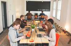 Community-Focused Coworking Spaces - This London Coworking Space Places Emphasis on Fellowship