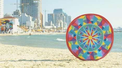 Pop-Up Beach Towels