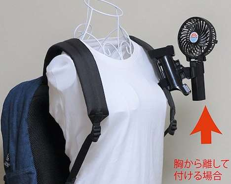 Wearable Cooling Fans - This Portable Fan You Can Wear Will Keep You Cool in Hot Weather This Summer