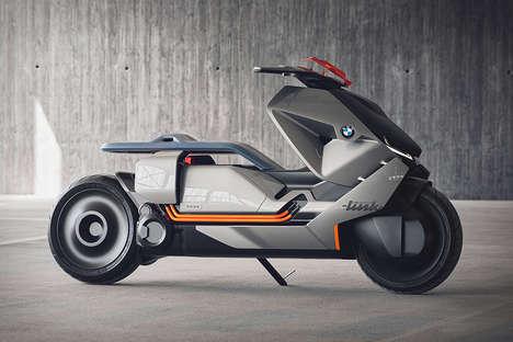 Electric Urban Dweller Motorcycles