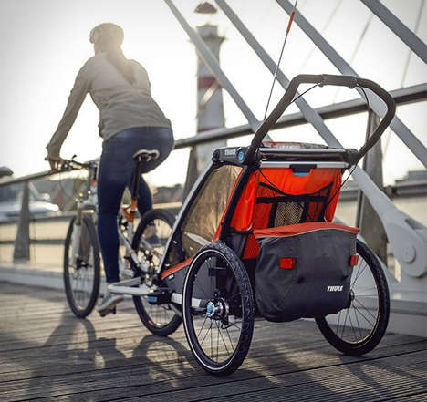 Adaptive Cyclist Stroller Trailers