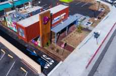 Shipping Container Taco Shops - Taco Bell Has Opened Its First Permanent Shipping Container Outpost