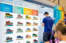 Transformed Trailer Sneaker Stores - Brooks Running Created a Mobile Space to Promote Its Offerings