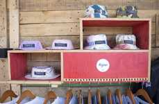 Shipping Container-Themed Retailers - The Kagiso Store Features a Casual, Rustic Wooden Aesthetic