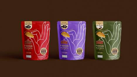 Thai Heritage Snack Branding - The Pleonta Pansib Snack Pouch Packaging Highlights Thai History