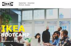 Furniture Brand Incubators - IKEA is Launching 'Bootcamp' as a Start-Up Incubator