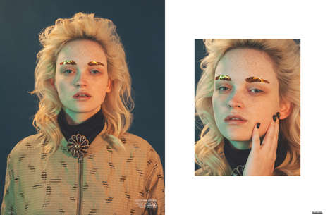 70s-Themed Beauty Portraits
