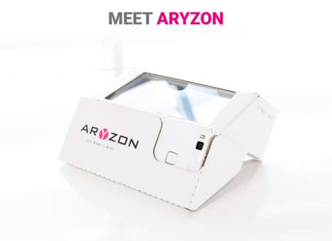 Cardboard AR Viewers - Aryzon Can Make Any Smartphone a 3D Augmented Reality Viewer