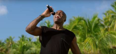 Celebrity Shark Attack Commericals - Musician Seal is Eaten by a Shark in This New 'Shark Week' Ad