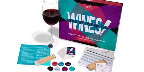 Card-Based Wine Tasting Games