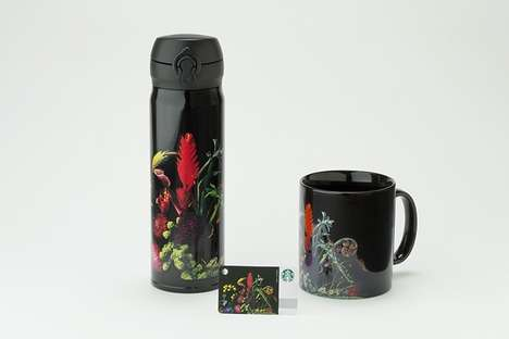 Artistic Portable Coffee Mugs
