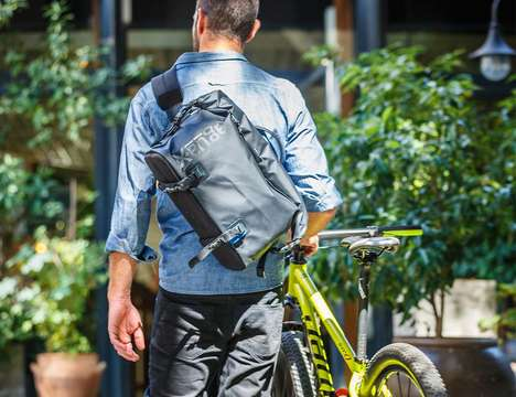 Adventurous Camera Packs - The Miggo Agua Stormproof Messenger 75 Protects from the Elements