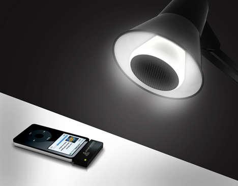 Smart Light Bulb Speakers