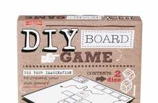 Dry-Erase Board Games - This DIY Board Game Kit Boasts a Reusable Base and Cards