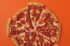 Overloaded Pepperoni Pizzas - The 'Extramostbestest' is an Extreme Cheese and Pepperoni Pizza