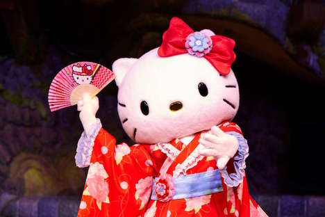 Cartoon Cat Dates - Sanrio is Rewarding Crowdfunding Supporters with Hello Kitty Dates