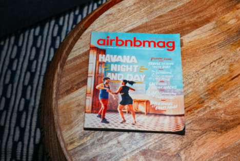 Travel Community Magazines - Airbnb Launched a Global Travel Magazine Called 'Airbnbmag'