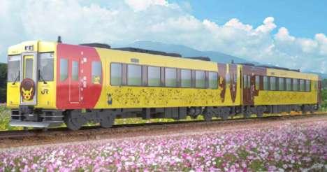 Anime-Themed Trains