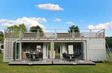 Mobile Shipping Container Boutiques - The Garnet Hill Shop is Housed in an Old Shipping Container