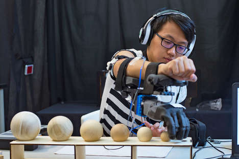 Movement-Sensing Prosthetics - This New Prosthetic Uses Haptic Feedback to Provide Muscle Sense