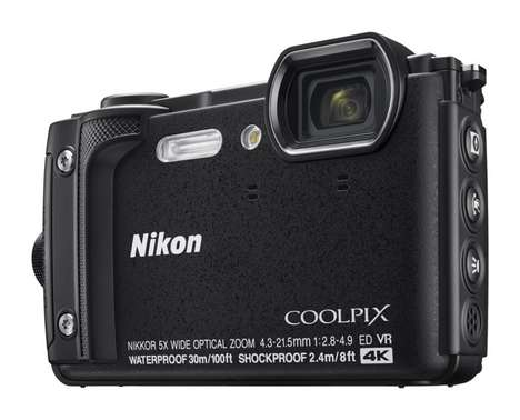 Dive-Ready Cameras - The Nikon COOLPIX W300 Captures Stunning Shots Above and Below the Surface