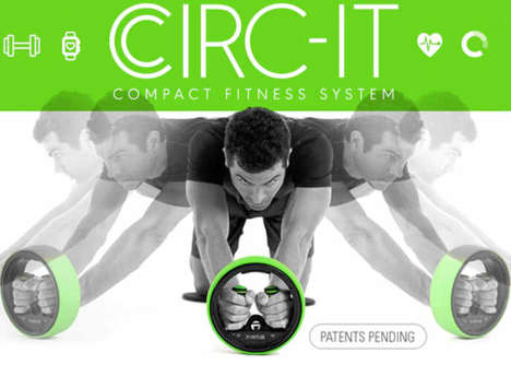 iOS-Connected Mini Gyms - The 'Circ-It' Enables a Circuit Workout with a Compact Set of Equipment