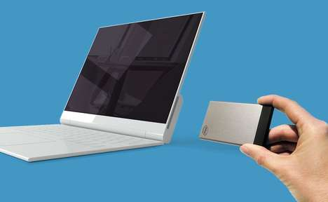 Credit Card-Sized PCs - The Intel Compute Card Plugs Directly into PC Screens