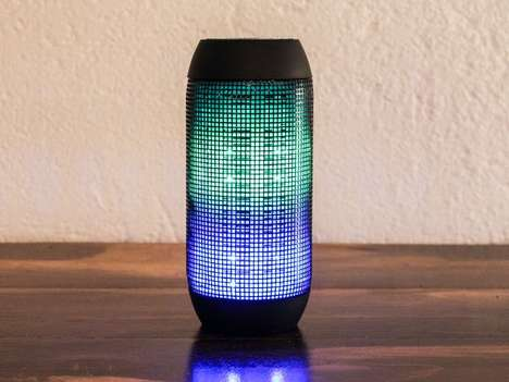 Luminous Portable Speakers