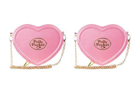 90s Toy Doll-Inspired Purses - This Polly Pocket Purse Honors the Legacy of the Tiny Dress-Up Toys