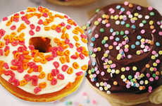 Summer-Celebrating Cake Donuts - These New Dunkin' Donuts Desserts Have Cake Batter and Frosting