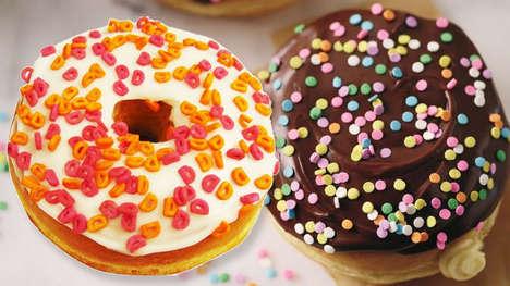 Summer-Celebrating Cake Donuts