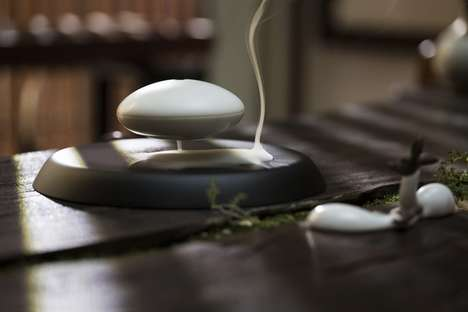 Levitating Incense Holders