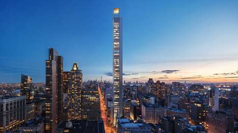 Slim Skyscraper Concepts - '262 Fifth Avenue' is New York's Newest Slimmest Skyscraper